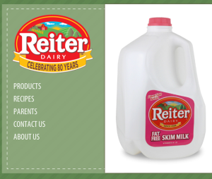 reiter-dairy-website-screenshot
