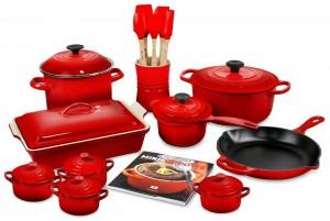 Enameled Cast Iron Cookware Set