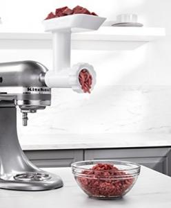 kitchenaid mixer food grinder