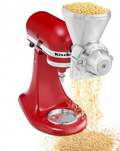 kitchenaid mixer grain mill